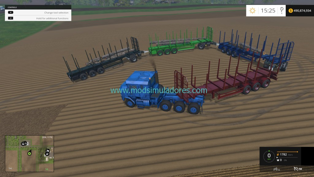 Fliegl Timber Runner Train Mod