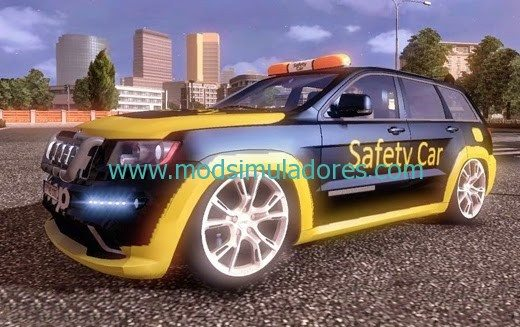 Jeep Cherokee Safety Car Para ETS2