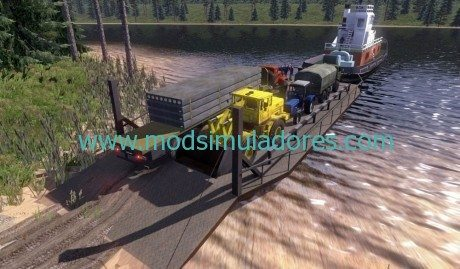 Mapa Truckers R43 by Goba6372 Para ETS2