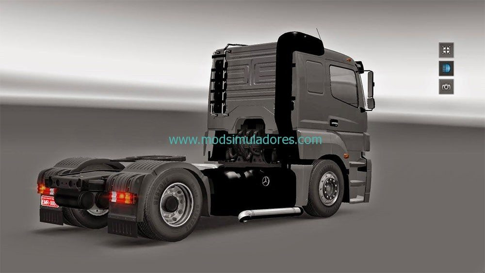 Mercedes Benz Axor Rebaixado Para ETS2