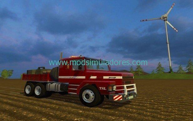 Scania 143H Para FS15