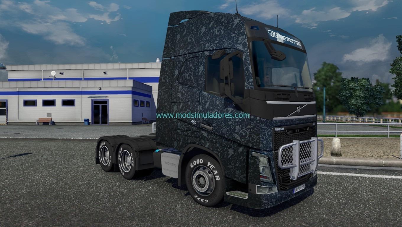 Skin Cinza Padrão Volvo Para ETS2