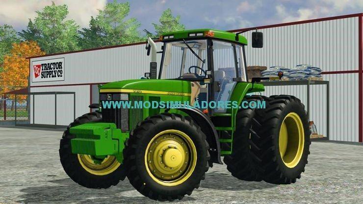 John Deere 7810 American Edition Para FS15