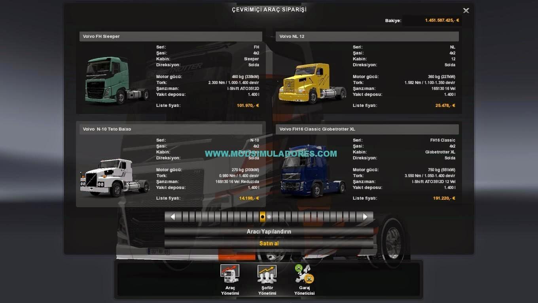 Pack de Caminhões Brasileiros EAA Para ETS2