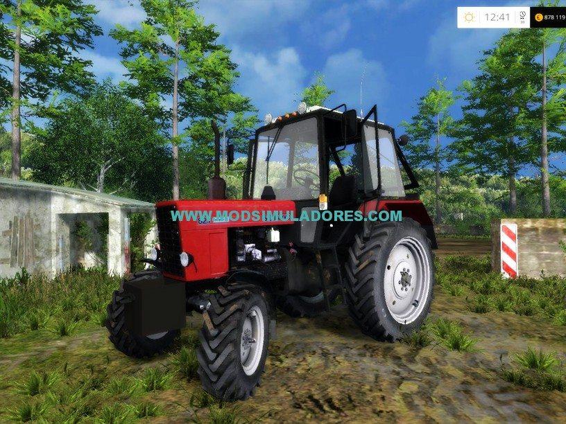 Trator MTZ 82.1 v2.0 Para FS15