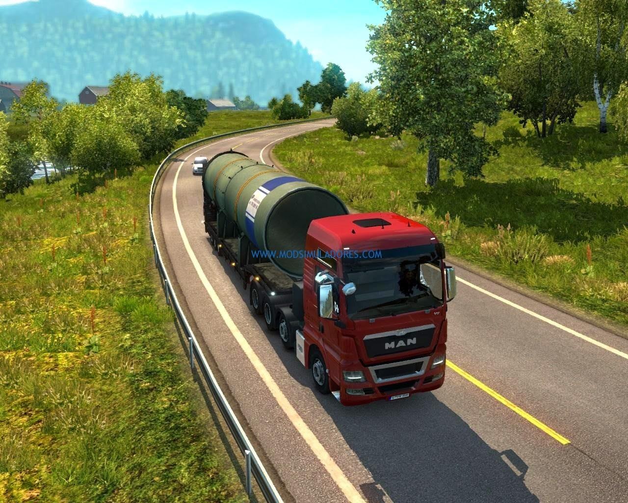 Caminhão - Man TGX Reformulado Para 1.18.X - ETS2