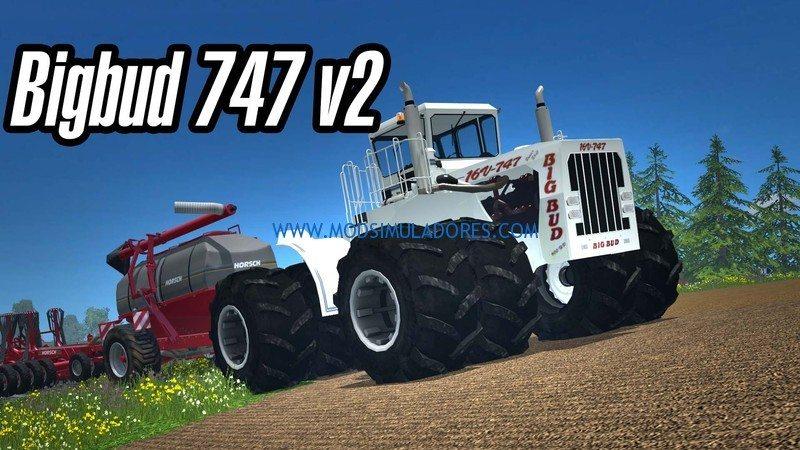 Trator Big Bud 16V 747 V 2.0 Para FS15