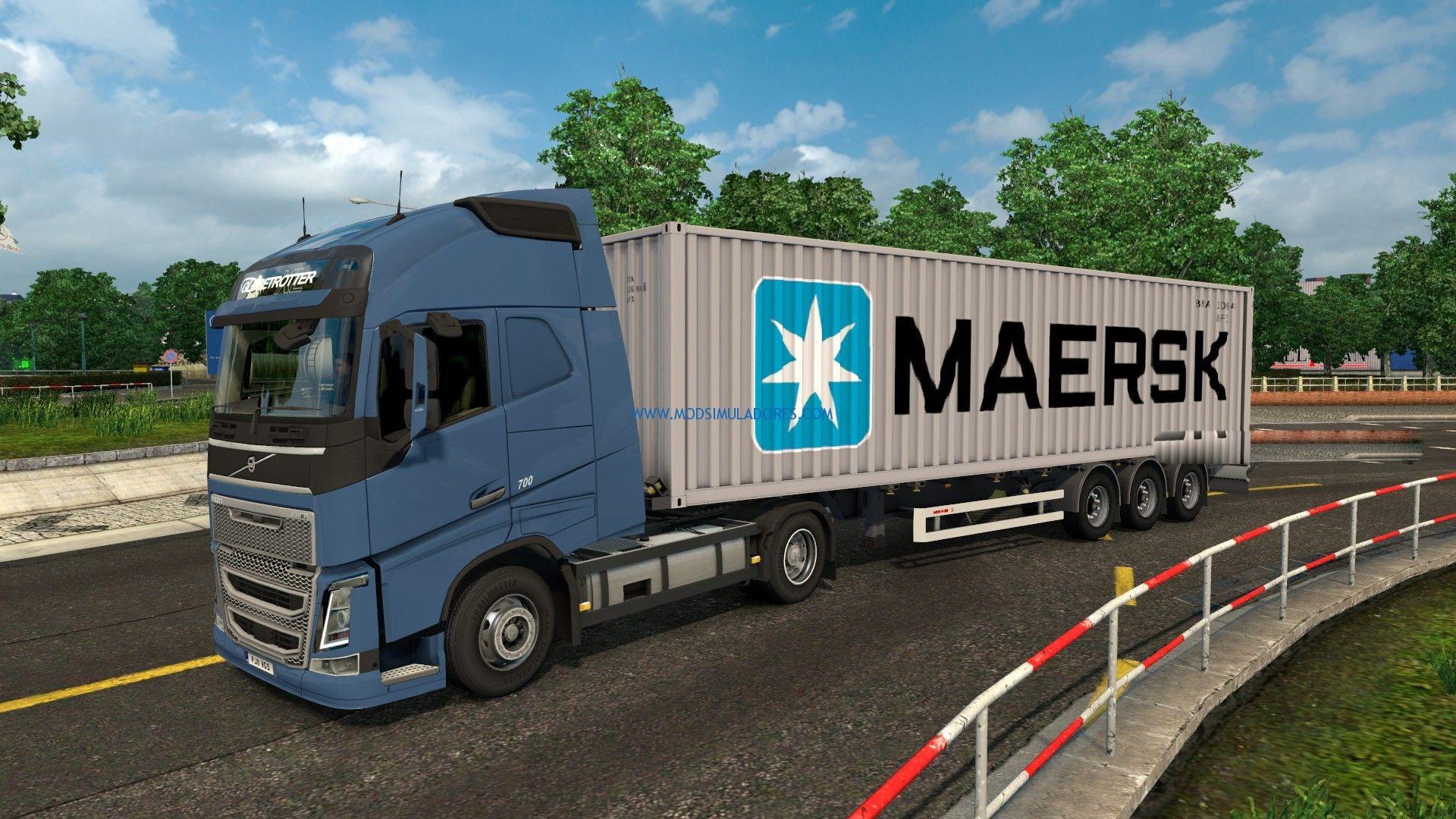 Baixar containers matson e maersk para mod simuladores - Matson container homes ...