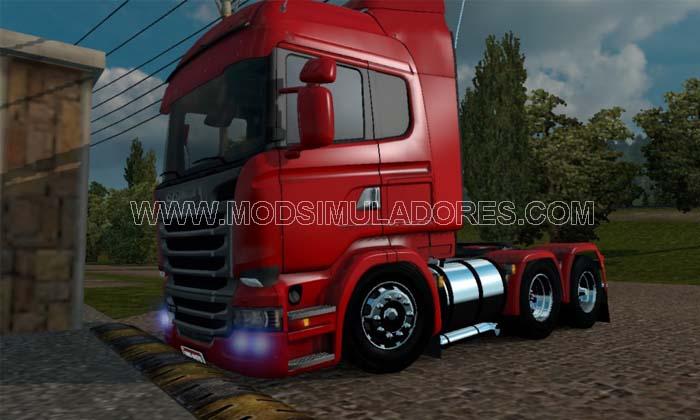 Caminhão Scania Streamline Rebaixada Para V1.18.X - ETS2