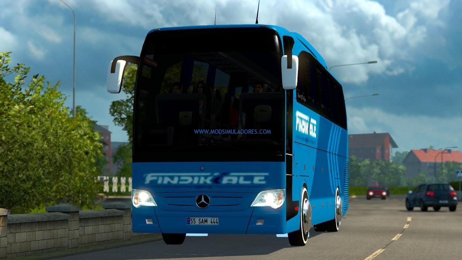Ônibus Mercedes Benz Travego 15 SHD Para V1.18.X - ETS2