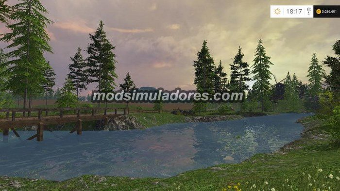 Mapa Black Rock Valley Para FS15