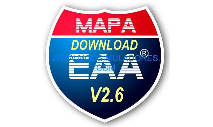 Mapa EAA V2.6.1 Para V1.19.X - ETS2