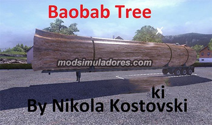 Carga Baobab Tree Para V.1.19.X - ETS2