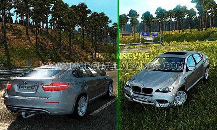 Carro BMW X6 V3.0 Para V1.18.X - ETS2