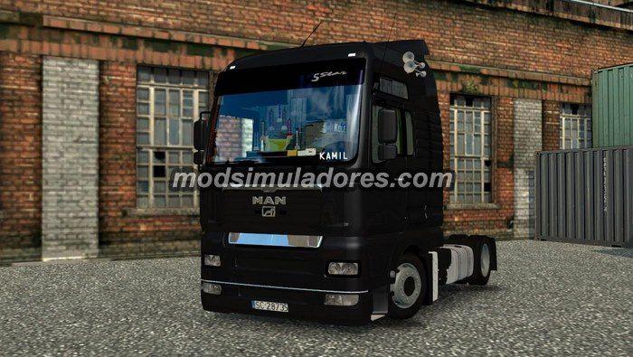 Caminhão Man TGA 5 Star Para V.1.19.X - ETS2