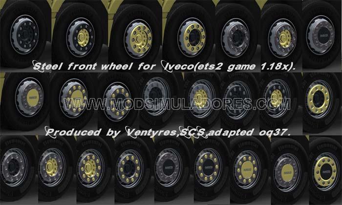 Pack de Rodas Iveco Para V1.18.X - ETS2
