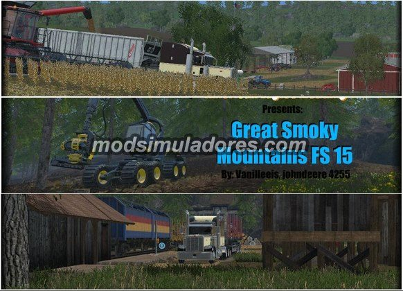 Mapa The Great Smoky Mountains Para FS15