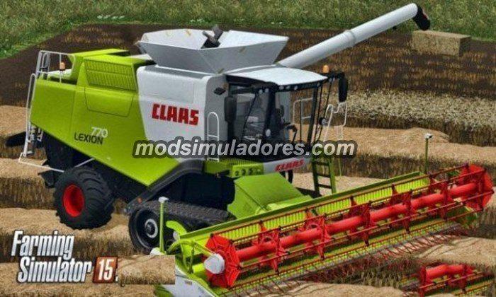 Claas Lexion 770 v 1.0 - FS15