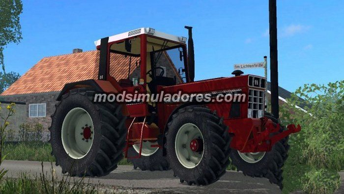 Trator International 1255 XL v 2.0 Para FS15