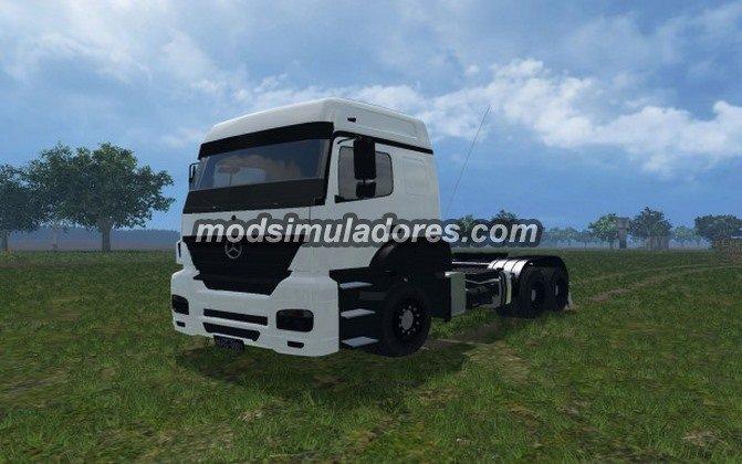 Caminhao Mercedes Benz Axor 2540 Para FS15