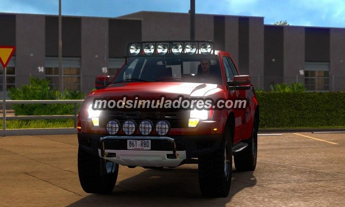Carro Ford F150 Raptor SVT V.3.0 Para V.1.19.X - ETS2