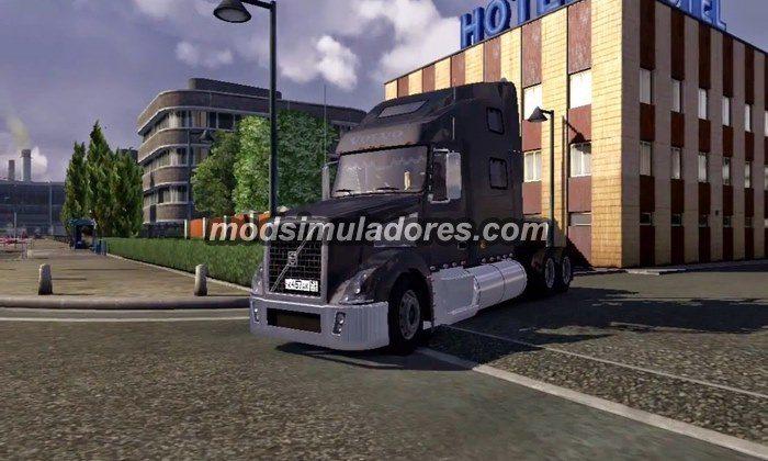 Caminhão Volvo VT880 V.2.0 Para V.1.21.X - ETS2