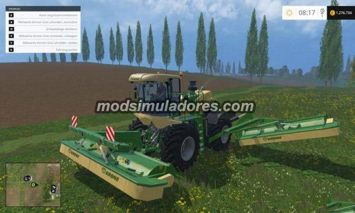 Krone Big M500 v 1.0 - FS15
