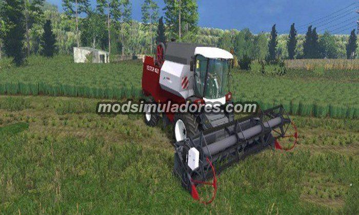 Rostselmash Vector 420 v 1.0 - FS15