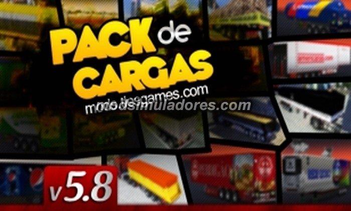 Pack de Cargas Brasileiras TlesGames V.5.8 Para V.1.20.X - ETS2