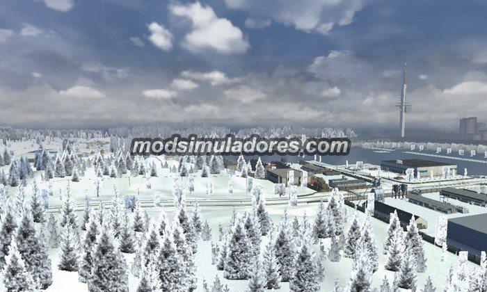 Mod Sons do Inverno Para V.1.21.X - ETS2