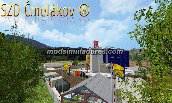 Mapa Cmelakov 15 V2 Gold Edition V2.01- FS15