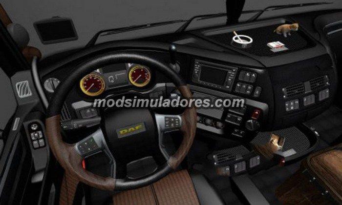 Interior DAF E6 Para 1.21.X - ETS2