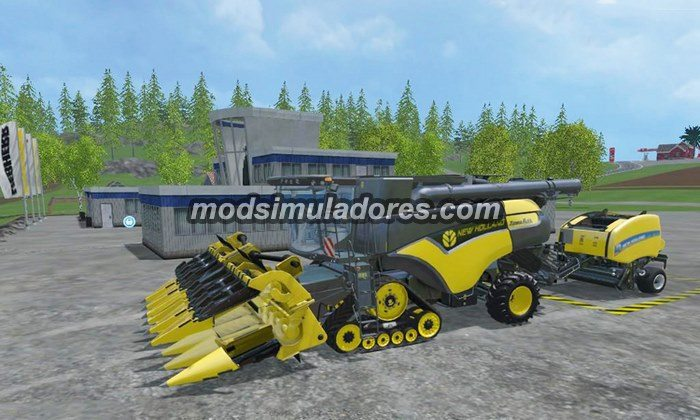 New Holland CR1099 Terraflex V2.1 - FS15