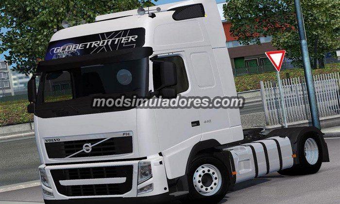 ETS2 Mod Caminhão Volvo FH13 440 Euro 5 Para V.1.21.X