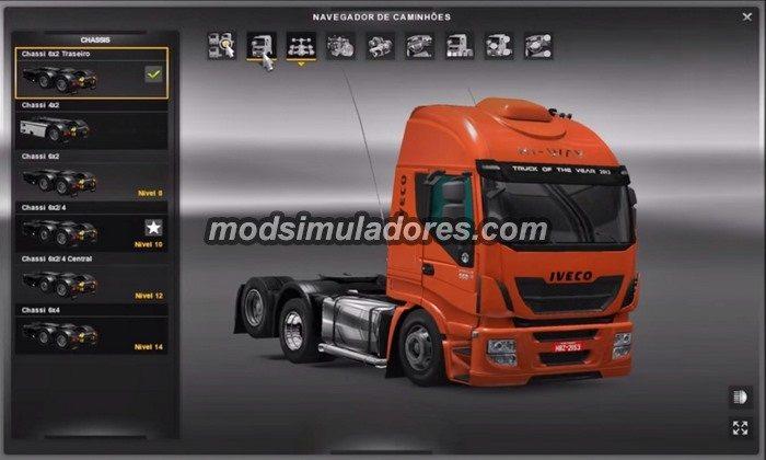 ETS2 Mod Caminhão Iveco Hi-Way Edit + Reboque Graneleiro V.2.0 Para V.1.22.X