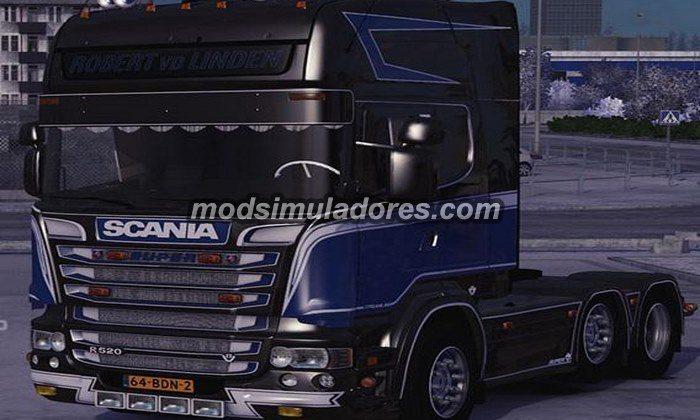ETS2 Mod Caminhão Scania R520 Para V.1.22.X