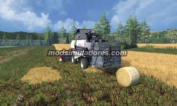 Fs15 Mod Colheitadeira Rostselmash Vector 410
