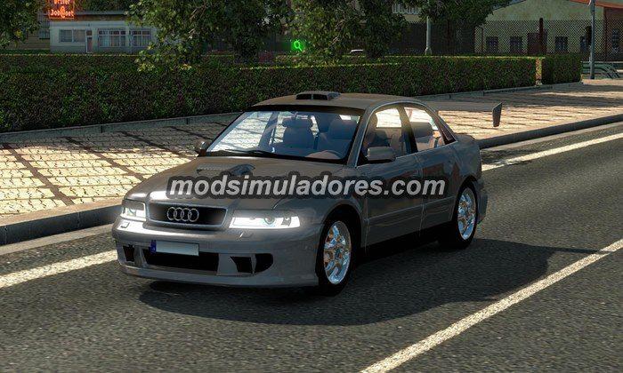 ETS2 Mod Carro Audi A4 Beta + Som V.0.5 Para V.1.22.X