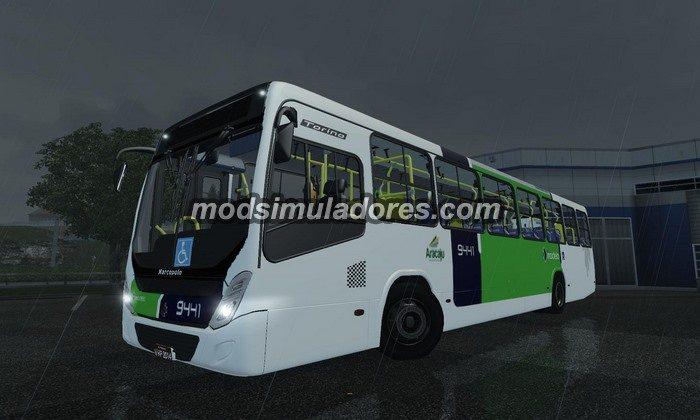 ETS2 Mod Ônibus Urbano Torino Para V.1.22.X