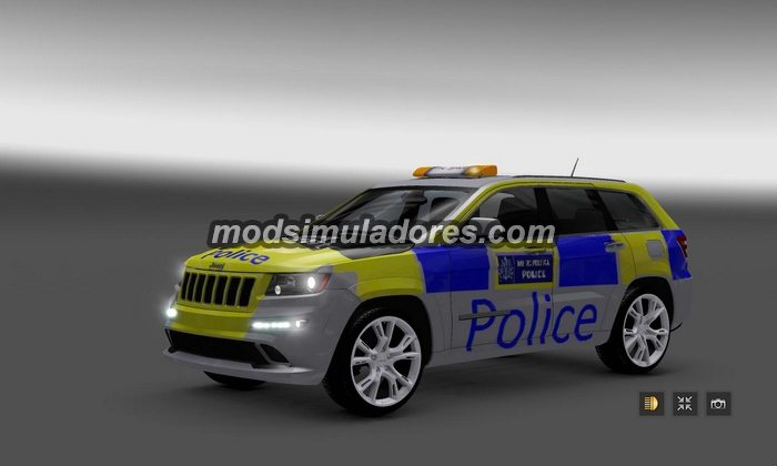 ETS2 Mod Carro Jeep Grand Cherokee SRT8 Para V.1.22.X