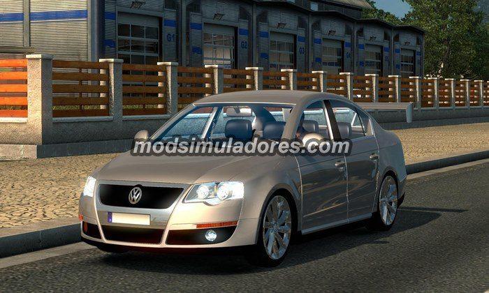 ETS2 Mod Carro Volkswagen Passat B6 V.0.2 Beta Para V.1.22.X