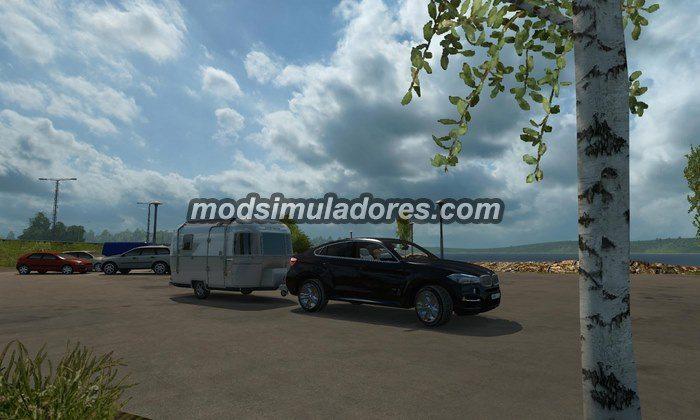 ETS2 Mod Carro BMW X6M HD V.2.0 Para V.1.22.X