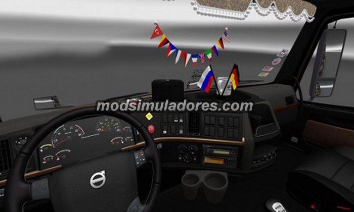 ETS2 Mod Interior Volvo VNL 670 Para V.1.22.X