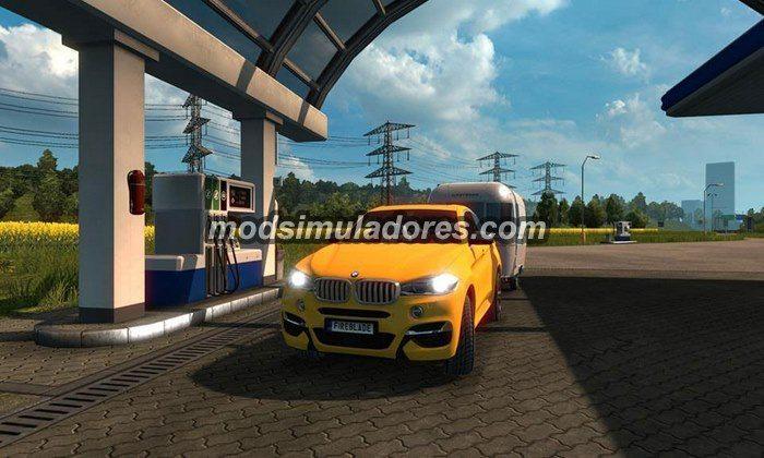 ETS2 Mod Carro BMW X6M Para V.1.22.X