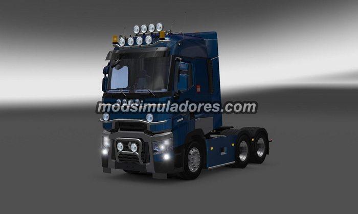 ETS2 Mod Caminhão Renault Range T V.4.3 Para V.1.21.X