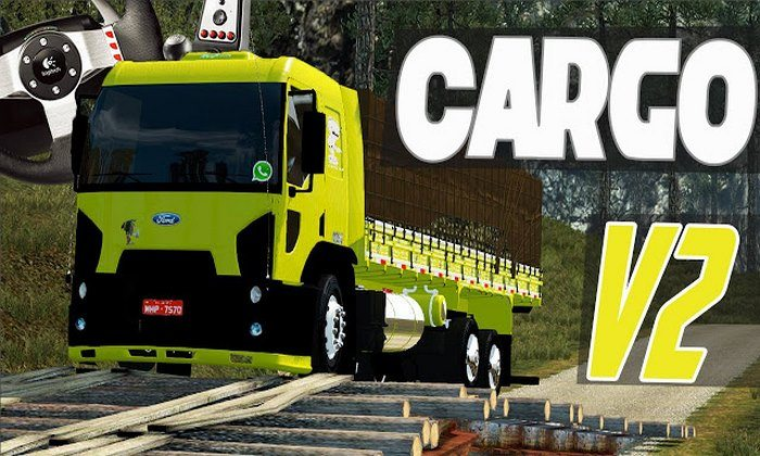 ETS2 Mod Caminhao Ford Cargo V2.0 Para V.1.22.X