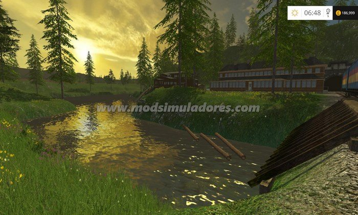 FS15 Mod Mapa Paradise Hills Update by Stevie V1.1