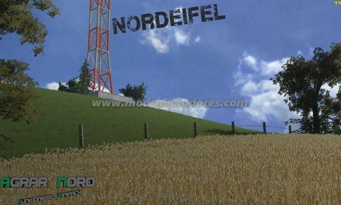 Mapa Nordeifel V1 - FS15