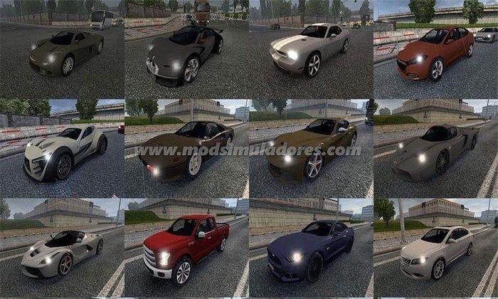 Pack de Carros do Asfalto Para V.1.22.X - ETS2