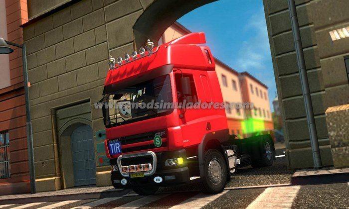 Caminhão Daf CF 85 V.1.4 Para V.1.22.X - ETS2